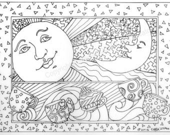 soul of the woodland coloring pages google search moon