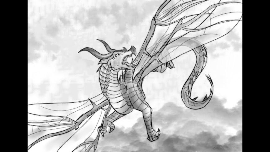 wings of fire speedpaint hivewing sketch youtube