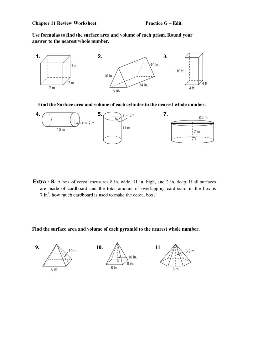 11 best images of a net of cube worksheet large