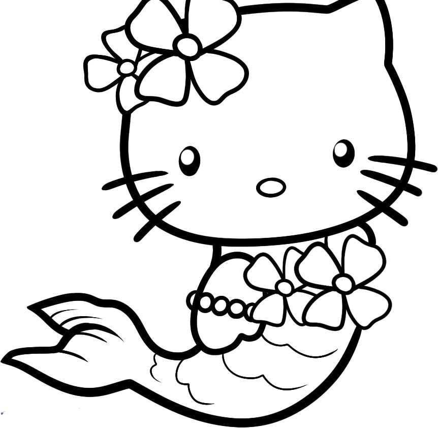 hello kitty haloween coloring pages at getcolorings