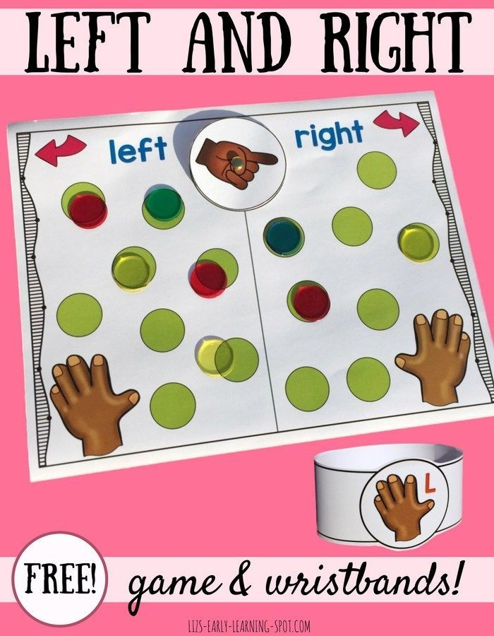 left and right wristbands and cover it board game lizs
