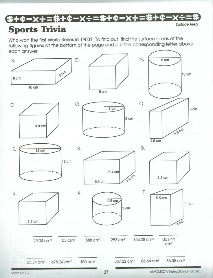 volume worksheets area worksheets mathematics worksheets