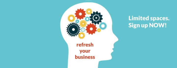 Refresh Your Business Website Banner