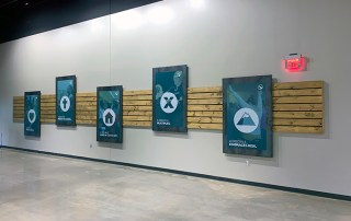 Interior Signage and Digitally Printed Graphics. Midlothian, TX
