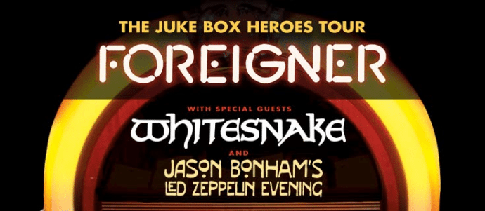 Whitesnake Announces 2018 Summer Tour With Foreigner And Jason Bonham