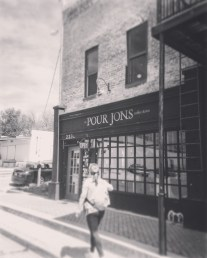 My youngest sister spent a weekend at my old college-JBU so I drove down to pick her up at the end. I showed around town and all the cool places we used to hangout