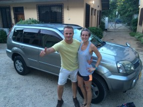 Oh yea...we bought a car from Japan and picked it up while in Dar!