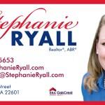 Stephanie Ryall - Business Card