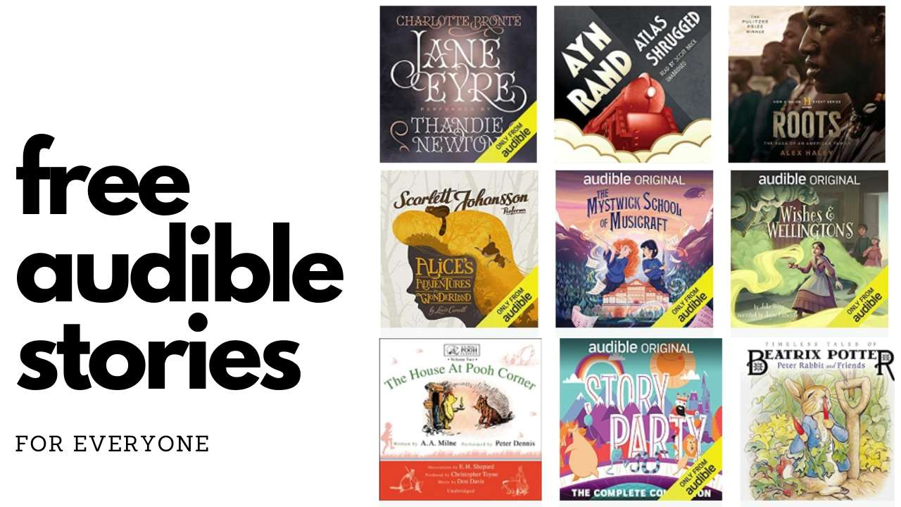 Free Audible stories for everyone
