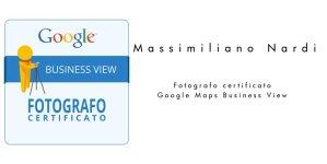 Fotografo certificato Google Maps Business View Verona