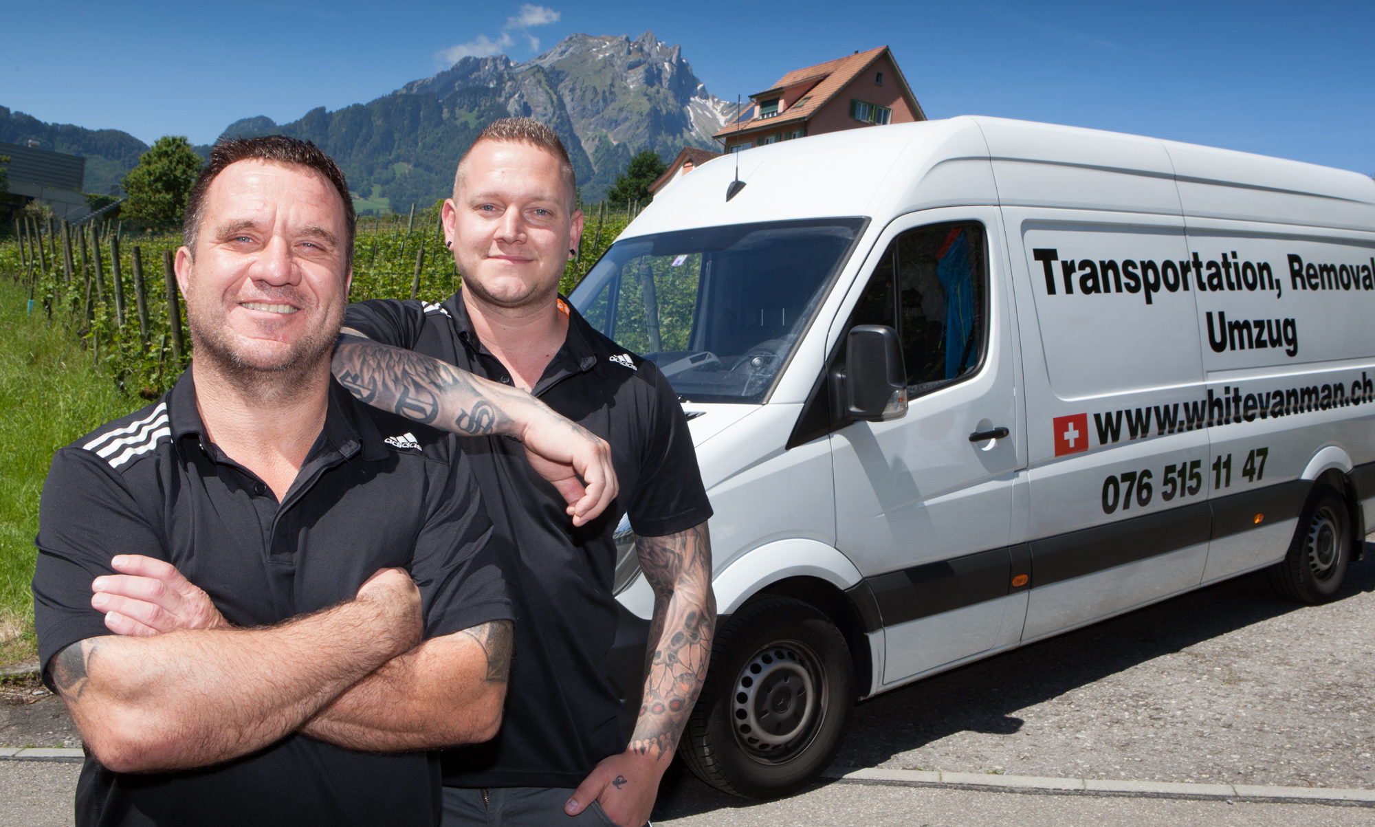 White Van Man Luzern. Serving Switzerland, UK and Europe
