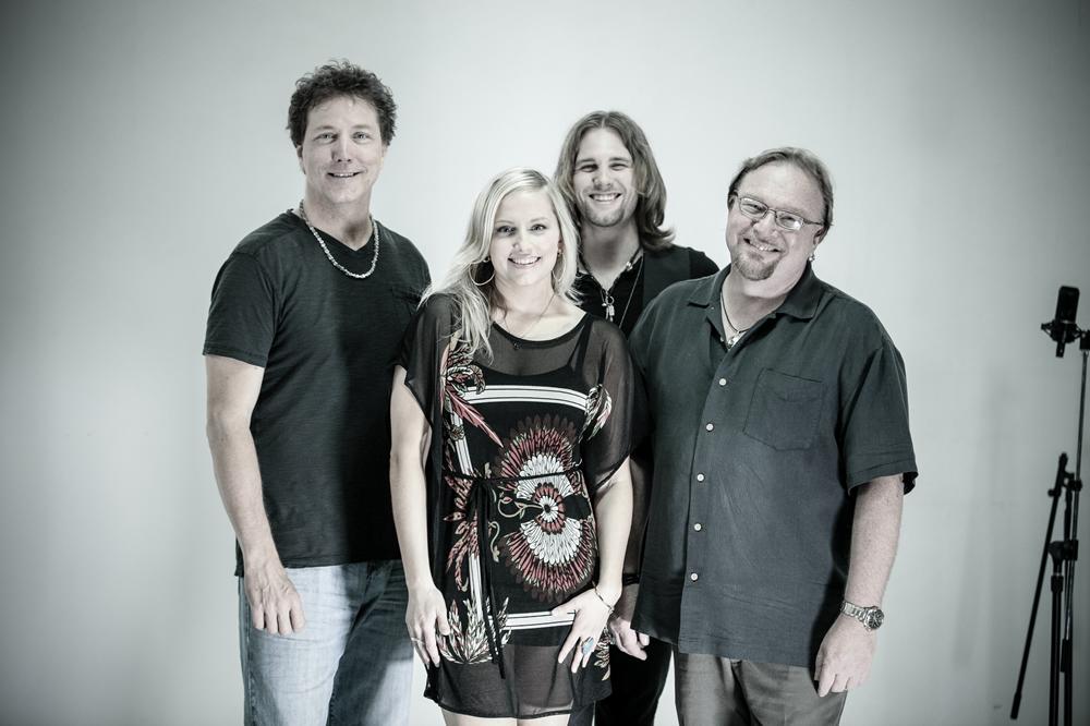 Blues rockers, Sena Ehrhardt Band, smile for the camera for Season 2