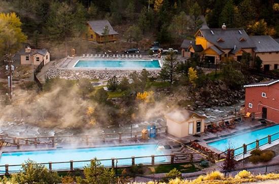 Family vacation ideas in Colorado: Hot Springs