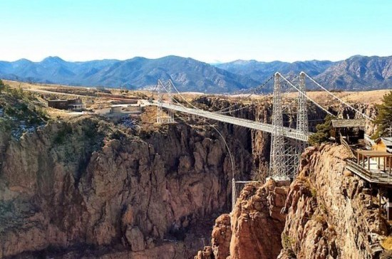 Family Vacation Ideas in Colorado: The Royal Gorge Bridge and Park.