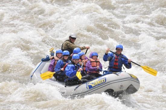 Raft Bighorn Sheep Canyon on the Arkansas River.