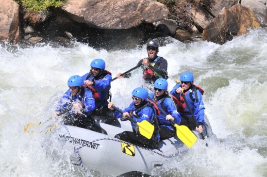 Colorado whitewater rafting the Numbers
