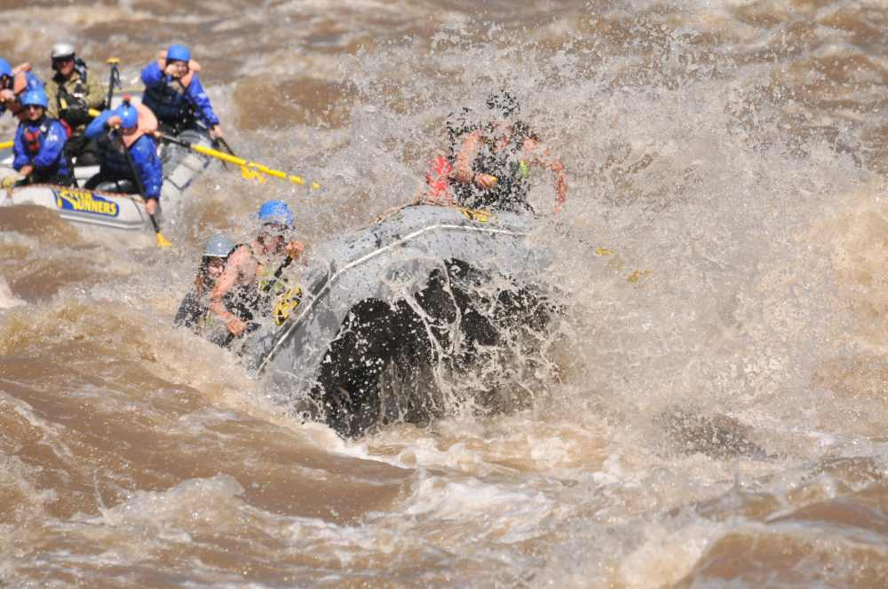 Colorado whitewater rafting.