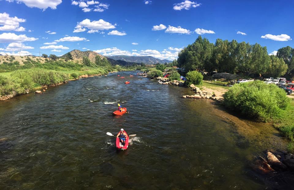 Salida Colorado Kayak Tours.