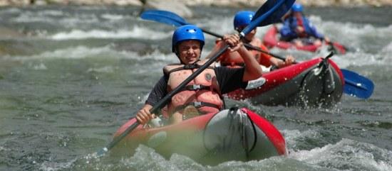 Inflatable Kayak tours.