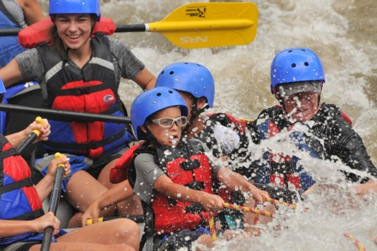 Beginner Whitewater Rafting Trips