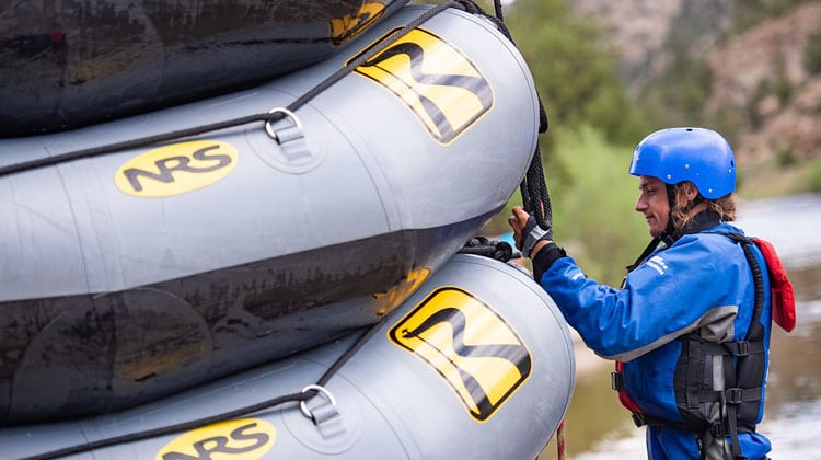 Raft Guide Training.