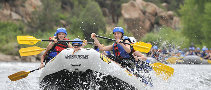 Browns Canyon Rafting Trips.
