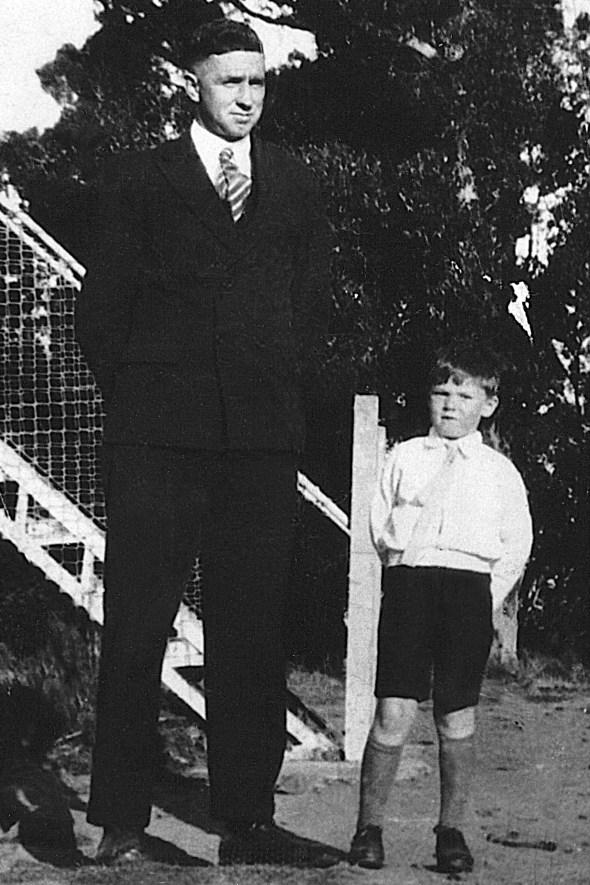 John Loring Sullivan and son John Sullivan