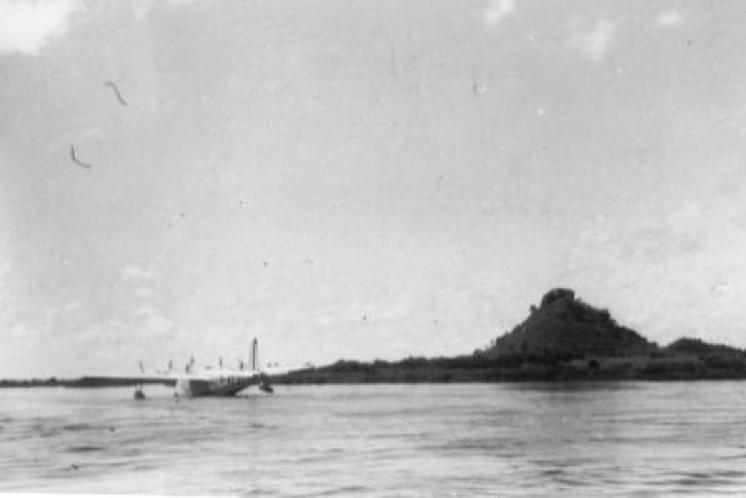 AEUC Corinna moored at Rejaf (Juba)