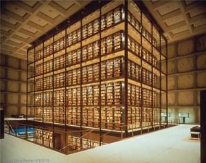 Bienecke Rare Book and Manuscript Library, Yale