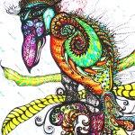 Sonya Sinha - J Bird in Tree