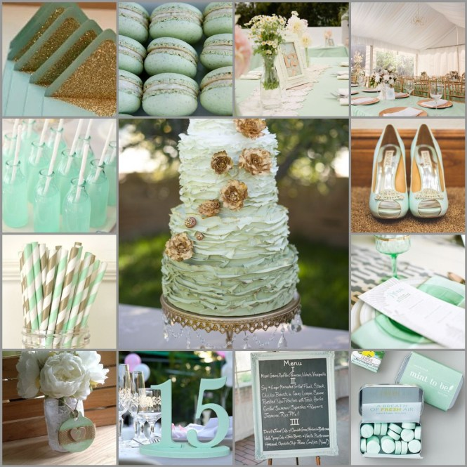 Mint Green Wedding Decorations