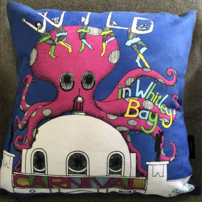 Whitley Bay Carnival 2017 Cushion
