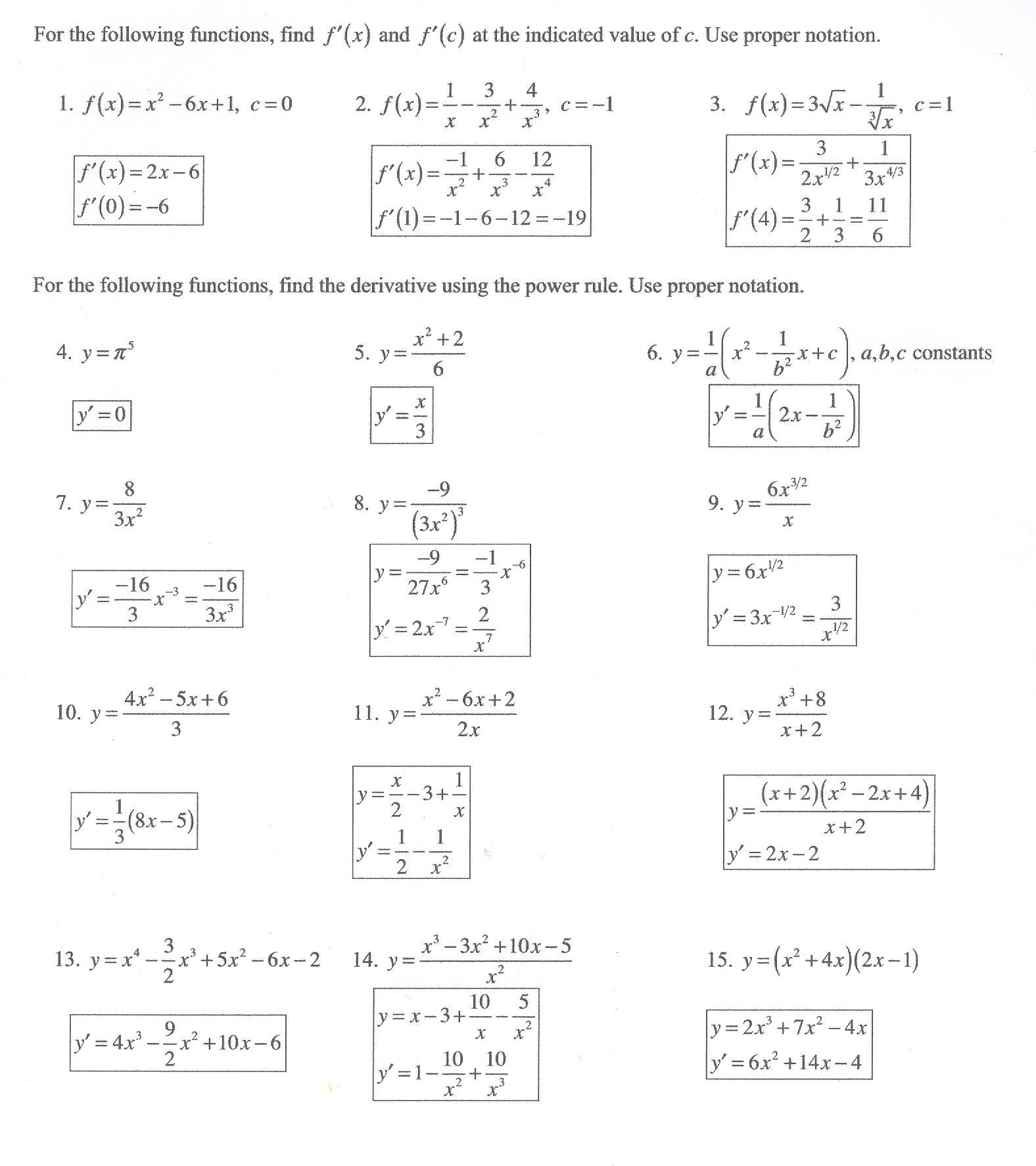 Class Notes 17 1st Sem