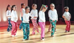 Dance show aids Whitman food pantry