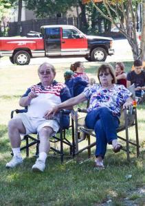Bob and Joanne Hodges whitman july9