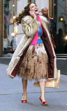 Carrie Bradshaw Sex and the City Costume | Whitneybearr