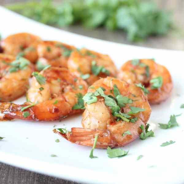 Chili Lime Garlic Grilled Shrimp