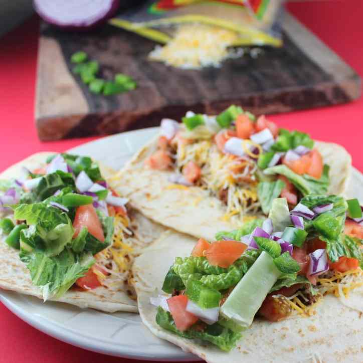 Easy Spicy Beef Taco Recipe
