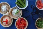 Hummus Trio with Vegetables