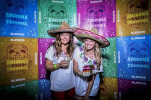 Amy Black, Whitney Bond, Photo Booth, Arizona Taco Festival, Sombreros, Girls in Sombreros, Girls in Photobooth