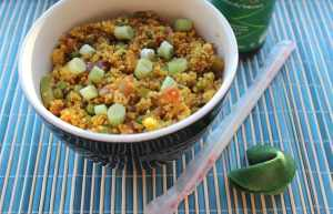 Curry Fried Quinoa