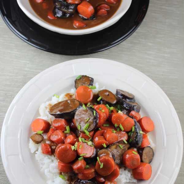 Sweet Miso Glazed Vegetables