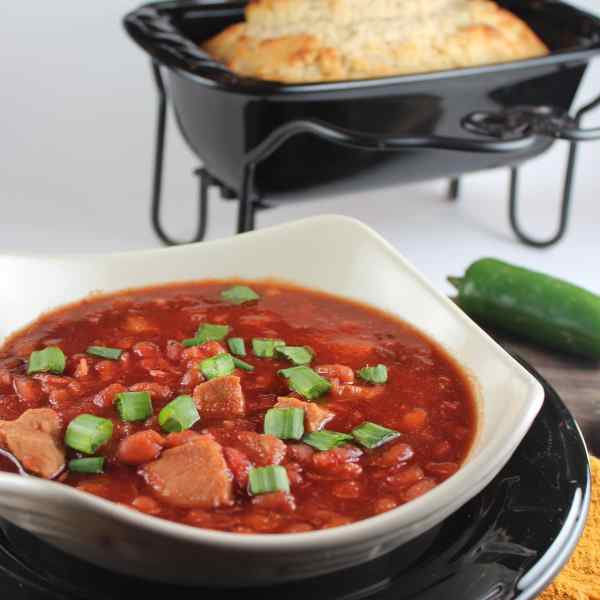 Pork and Bean Chili Recipe
