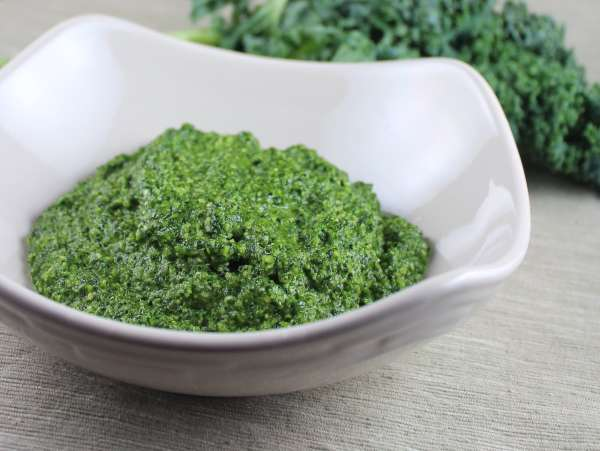 Fresh Kale Pesto Recipe
