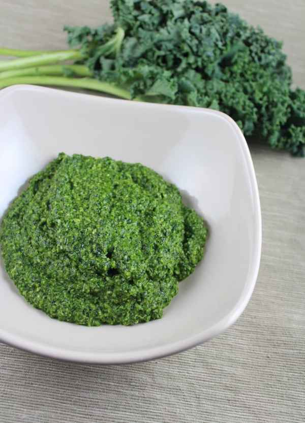 Fresh Kale Pesto Recipe