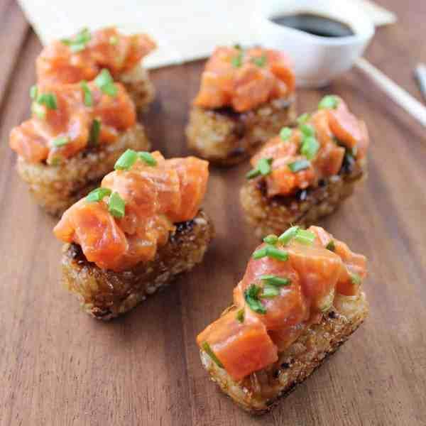 Crispy Rice Spicy Tuna