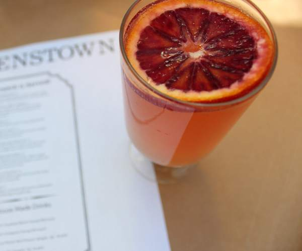 Queenstown San Diego Blood Orange Mimosa