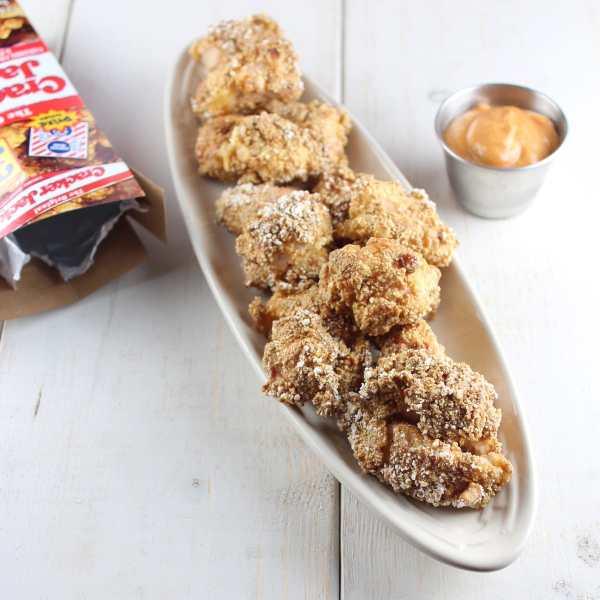 Cracker Jack Popcorn Chicken