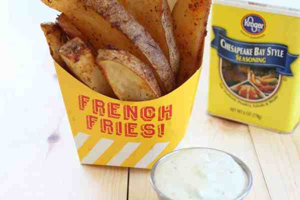 Baked Philly Crab Fries