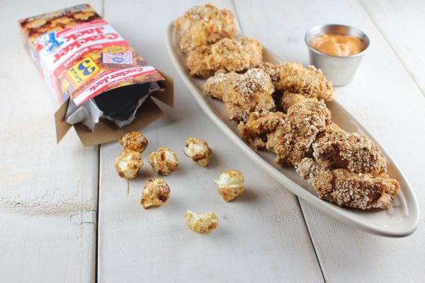 Cracker Jack Popcorn Chicken